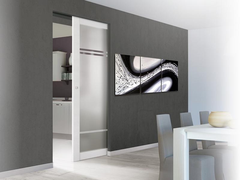 Porte Interne Moderne Scorrevoli - Edilval - Edil Gi | Porte e ...